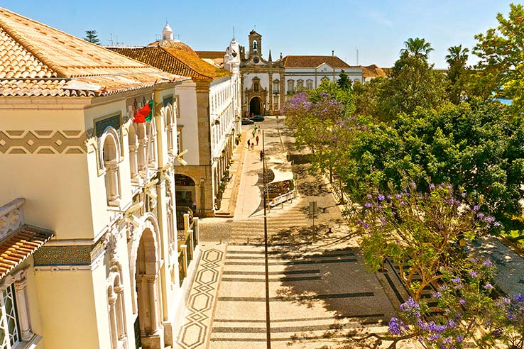 Fly to Faro, see the old town.