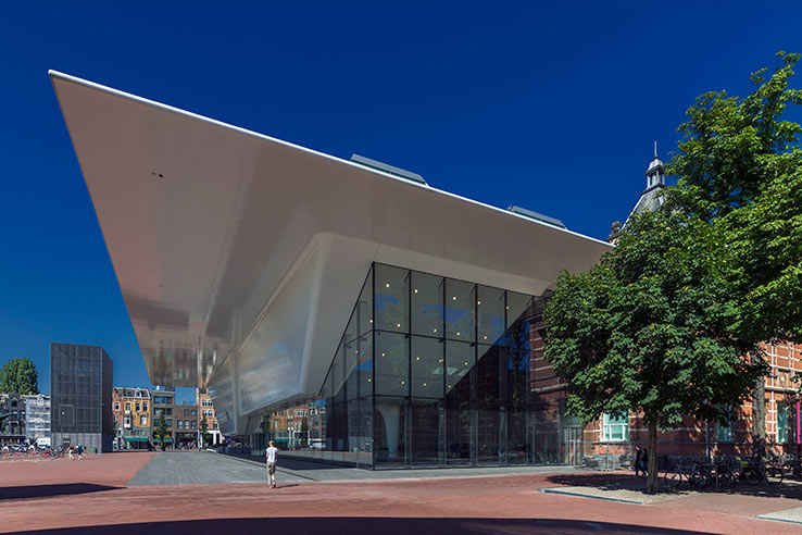 Fly to Amsterdam, visit the Stedelijk.