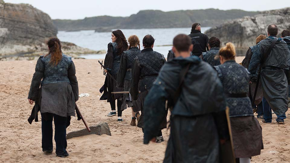 Fly to Belfast, see The Giant's Causeway on the Game of Thrones tour.