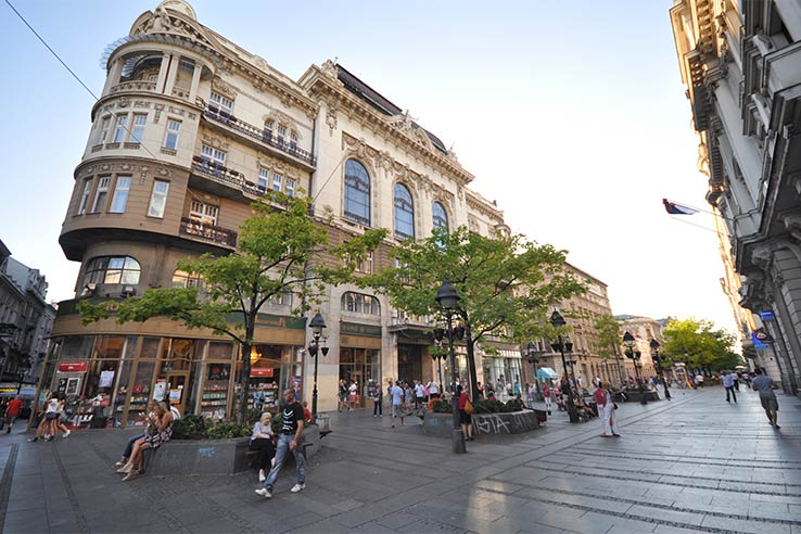 Fly to Belgrade, go shopping at Knez Mihailova.