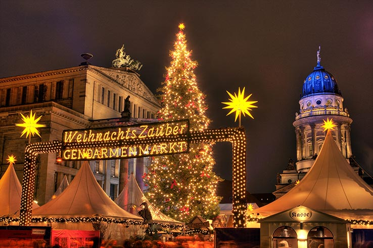 Fly to Berlin in November or December and visit the Christmas markets.