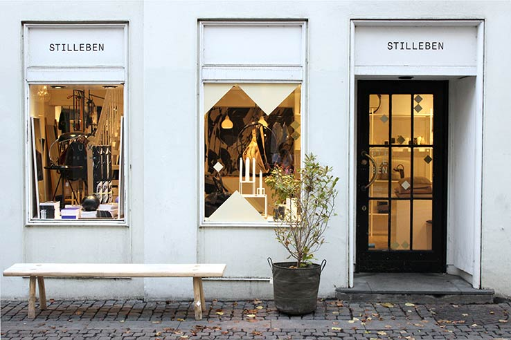 Fly to Copenhagen, visit Stilleben design shop.