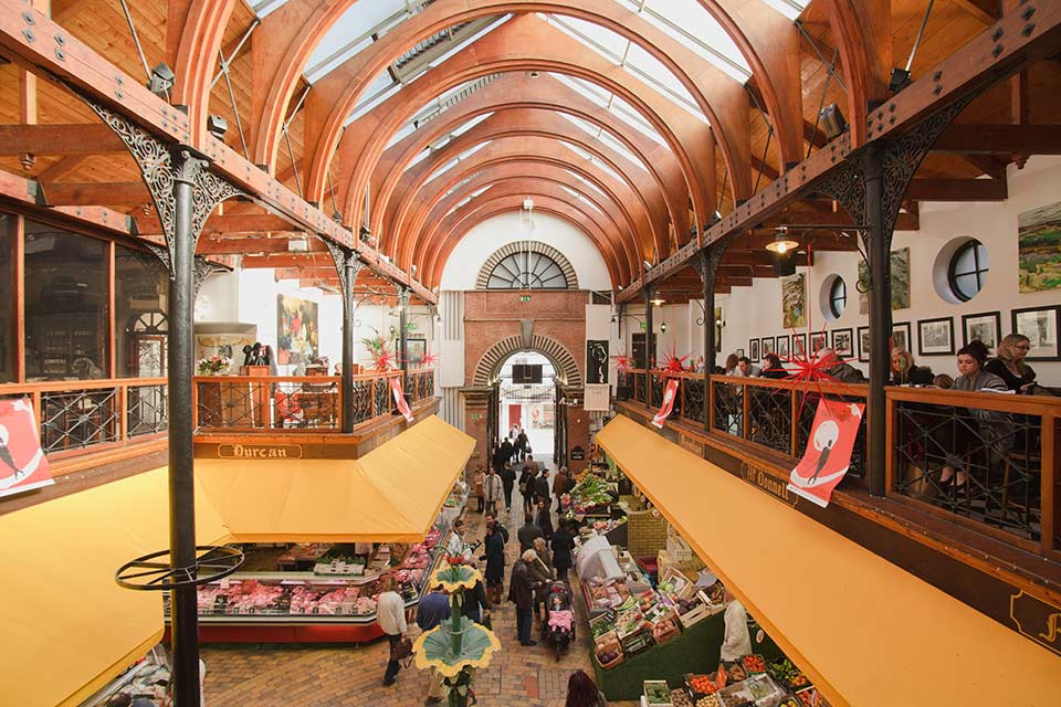 Fly to Cork, visit the English Market.