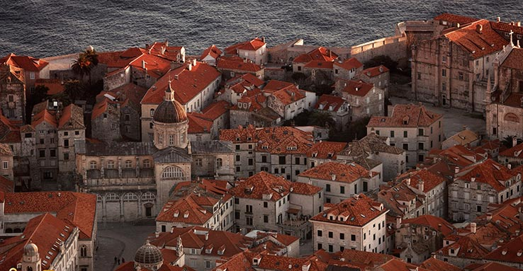 Fly to Dubrovnik, see the old town.