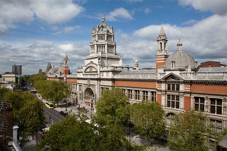Fly to London, visit the V&A Museum.