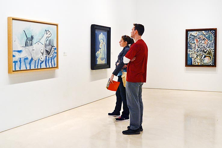 Flights to Malaga, visit the Picasso Museum.