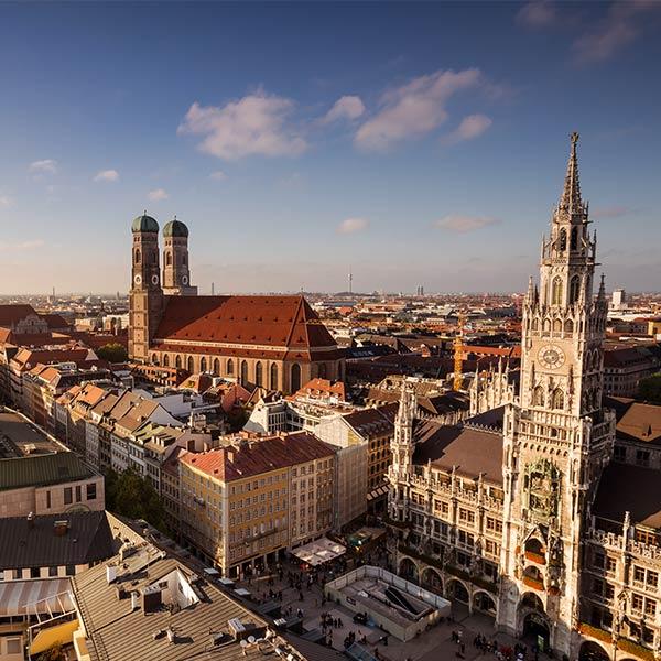 Lennot kohteeseen München