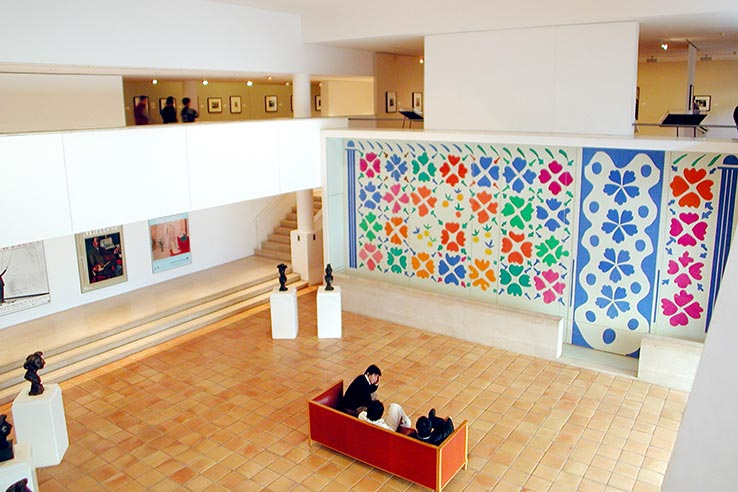 Fly to Nice, visit the Matisse Museum.