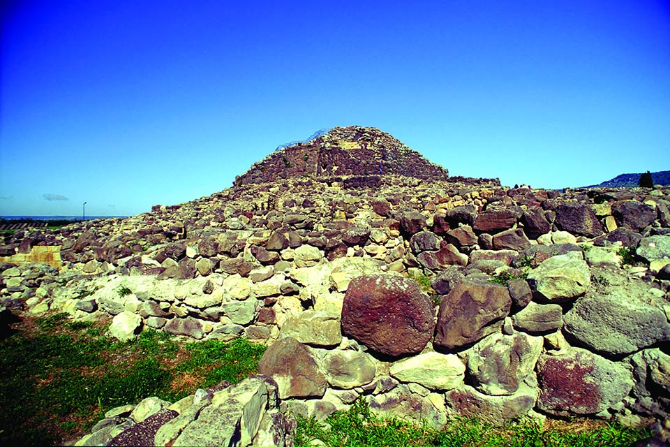 Fly to Olbia, Sardinia, discover the ancient Nuraghe civilization.
