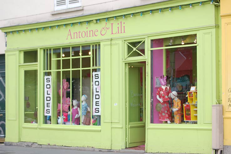 Fly to Paris, shop at Antoine et Lill.