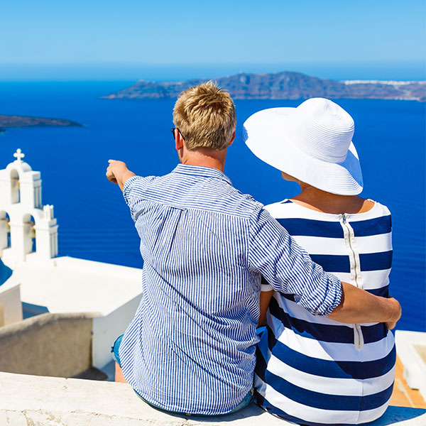 Flights to Santorini