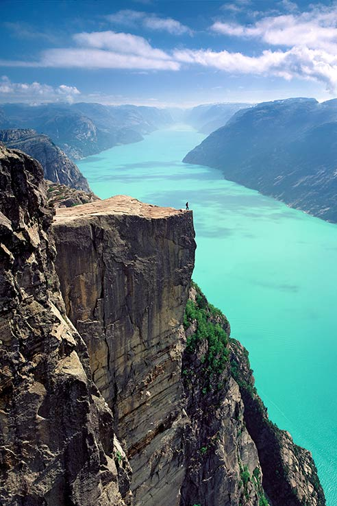 Fly to Stavanger, see the Pulpit rock.