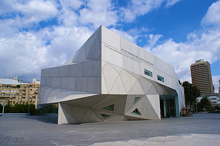 Fly to Tel Aviv, visit Tel Aviv Museum of Art.