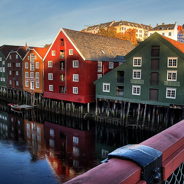 Flights to Trondheim