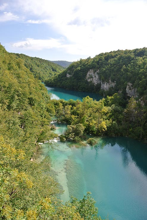Fly to Zagreb, see the Plitvice Lakes.