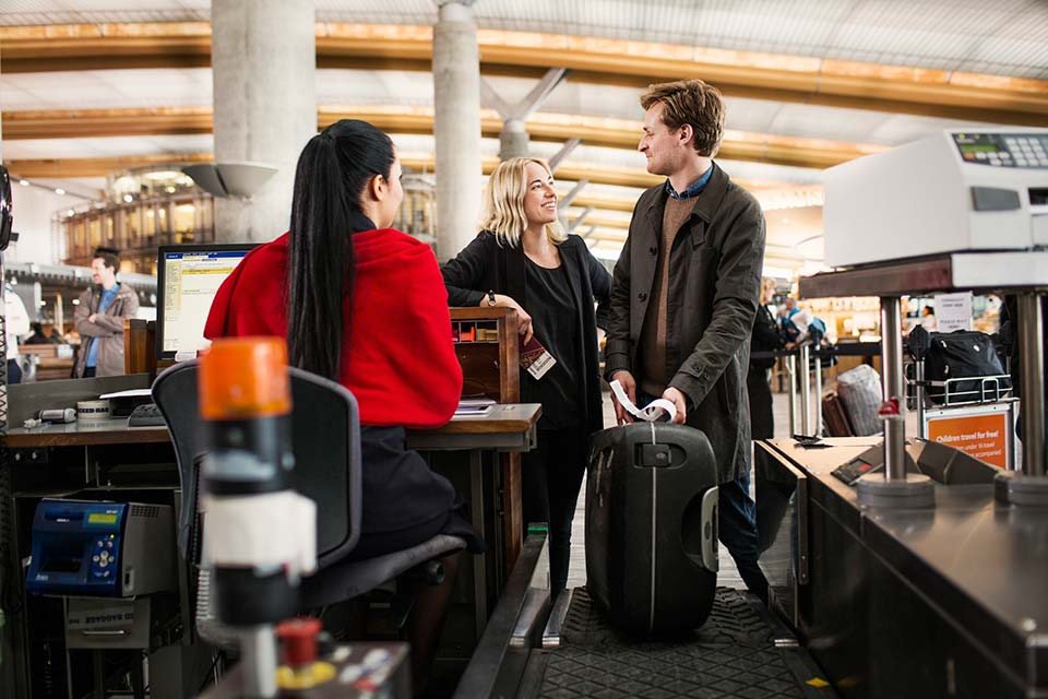 With Norwegian, you choose whether to pay for baggage or not.